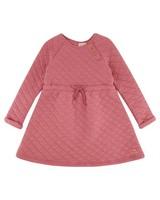 Girls Mala Quilt Dress  -  dustypink