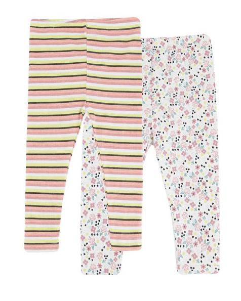 Baby Girls 2-Pack Celyn Leggings  -  assorted
