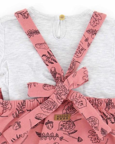 Baby Girls Faye Jumpsuit Set -  dustypink