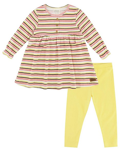 Baby Girls Ellen Dress Set -  assorted