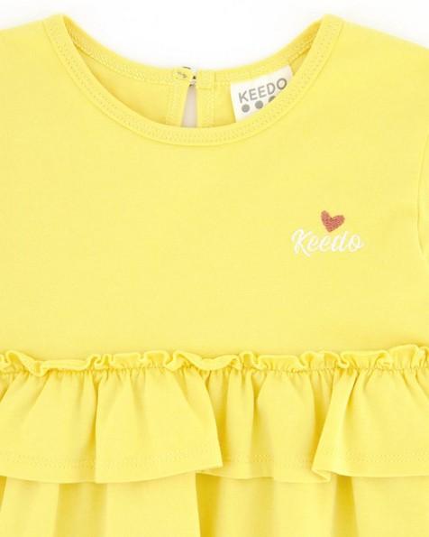 Girls Dakota Dress -  yellow