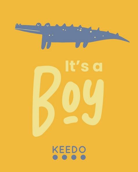 Gift Card - It's a Boy -