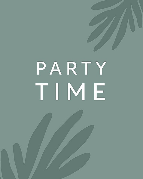 Gift Card - Party Time -