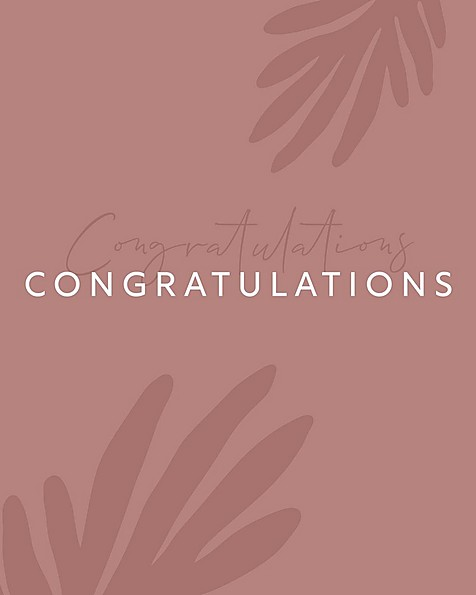 Gift Card - Congratulations on your new baby boy! -