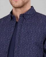 Men's Sean Slim Fit Shirt -  blue