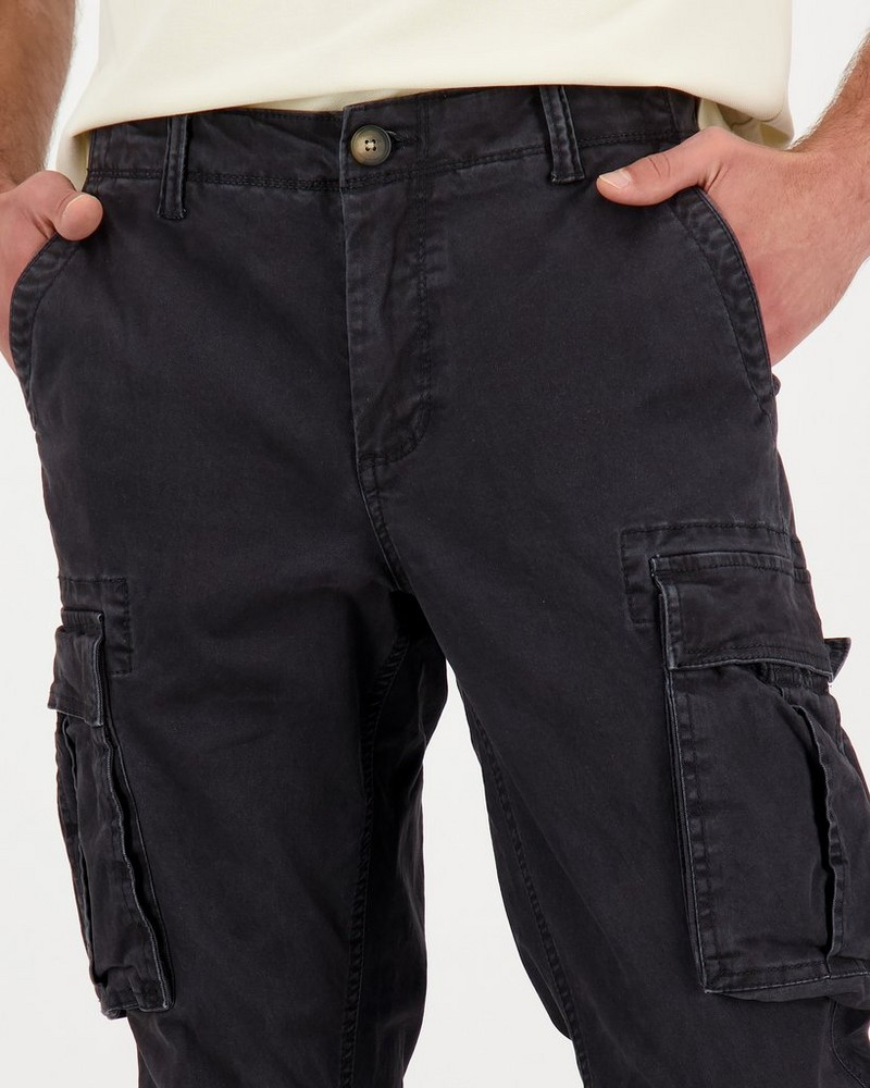 Men's Arian Utility Pants -  charcoal