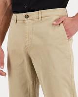 Men's Jared Tapered Slim Chinos -  khaki