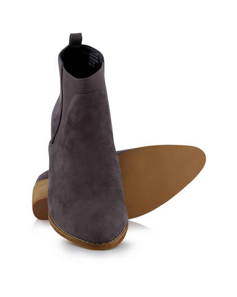 Women's Zoey Boot -  charcoal