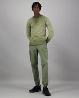 Men's Henderson Long Sleeve Standard Fit T-Shirt -  olive