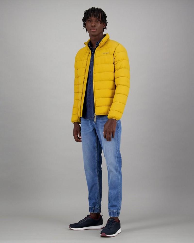 Men's Lex Puffer Jacket -  yellow