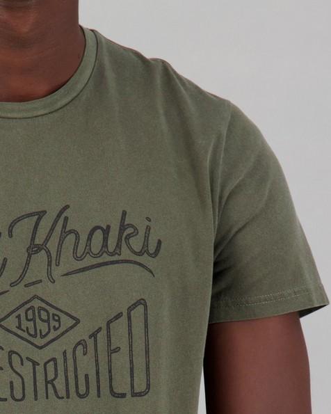 Men's Jax Standard Fit T-Shirt -  olive