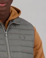 Men's Loki Sleeveless Puffer Jacket -  grey