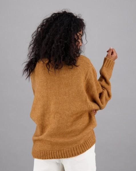 Women's Oriel Pullover -  mustard