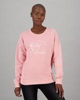 Women's Christal Sweat -  pink