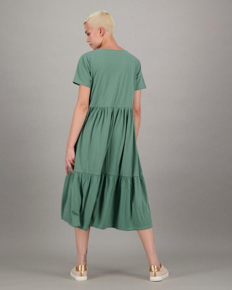 Women's Julia Tiered Dress -  olive