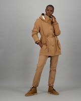 Women's Astrid Parka Jacket -  tan