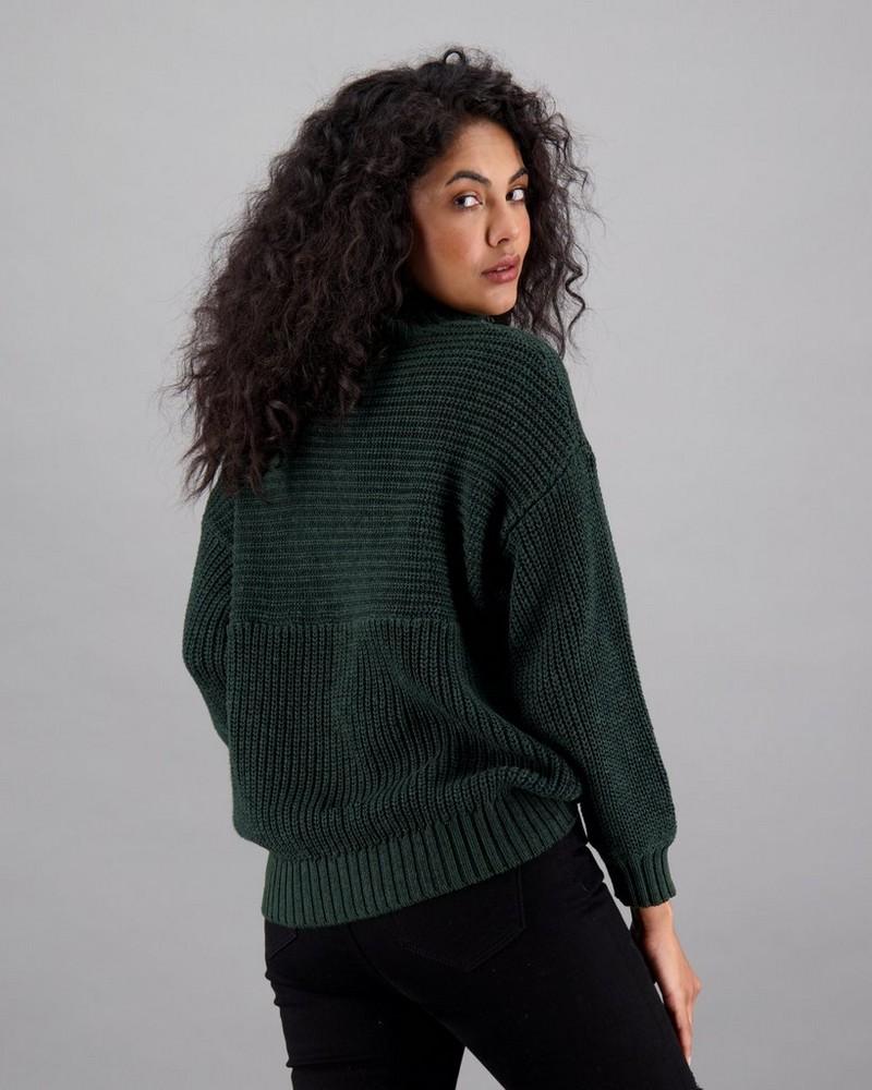 Women's Chrissy Pullover -  emerald