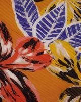 Women's Farren Pleated Scarf -  yellow