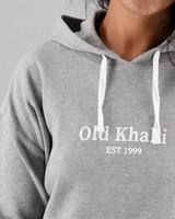 Women's Dixie Hooded T-Shirt -  grey