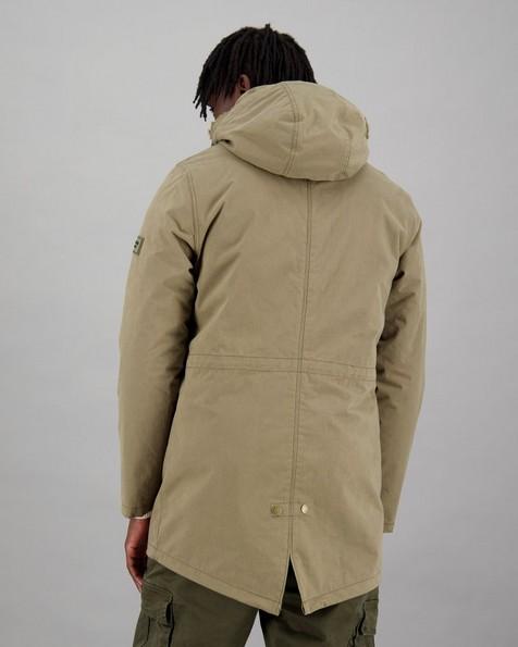 Men's Paul 3-In-1 Parka Jacket -  olive