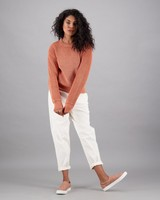 Women's Pixie Pullover -  rust