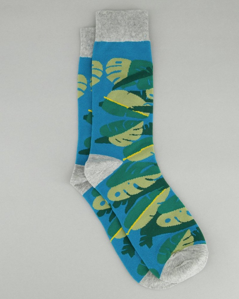 Men's Shep Foliage Sock -  green