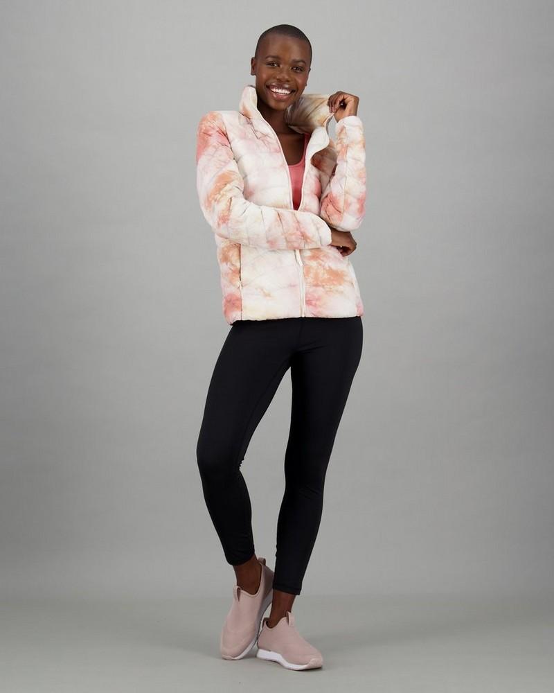 Women's Nahla Down Puffer Jacket -  dustypink