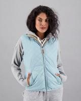 Women's Annika Reversible Puffer Jacket -  duck-egg