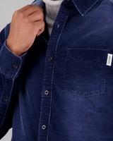 Men's Landon Slim Fit Shirt -  indigo