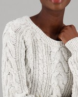 Women's Lizette Pullover -  milk