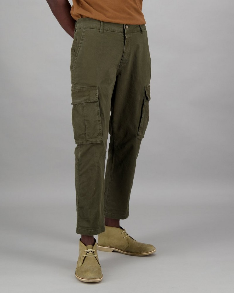 Men's Johan Utility Pants -  olive