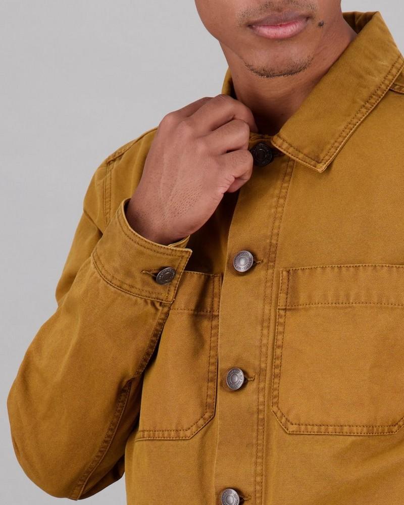 Men's Brody Trucker Jacket -  brown