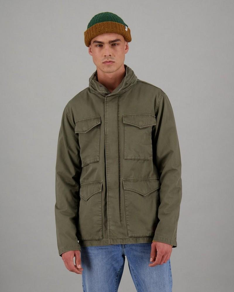 Men's Peter Parka Jacket -  brown