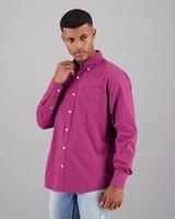 Men's Cesar Regular Fit Shirt -  berry