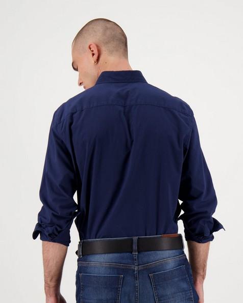 Men's Cesar Regular Fit Shirt -  navy