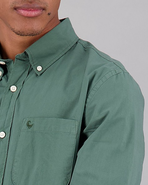 Men's Cesar Regular Fit Shirt -  sage