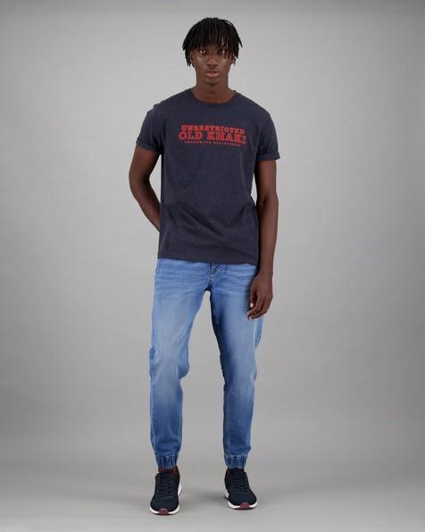 Men's Ricardo Relaxed Fit T-Shirt -  navy