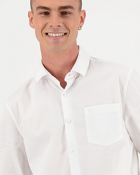 Men's Andy Slim Fit Shirt -  white