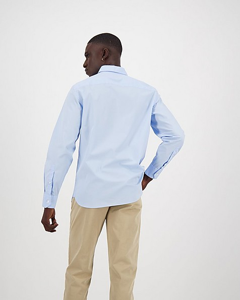 Men's Andy Slim Fit Shirt -  lightblue