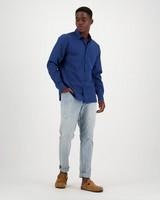 Men's Andy Slim Fit Shirt -  navy