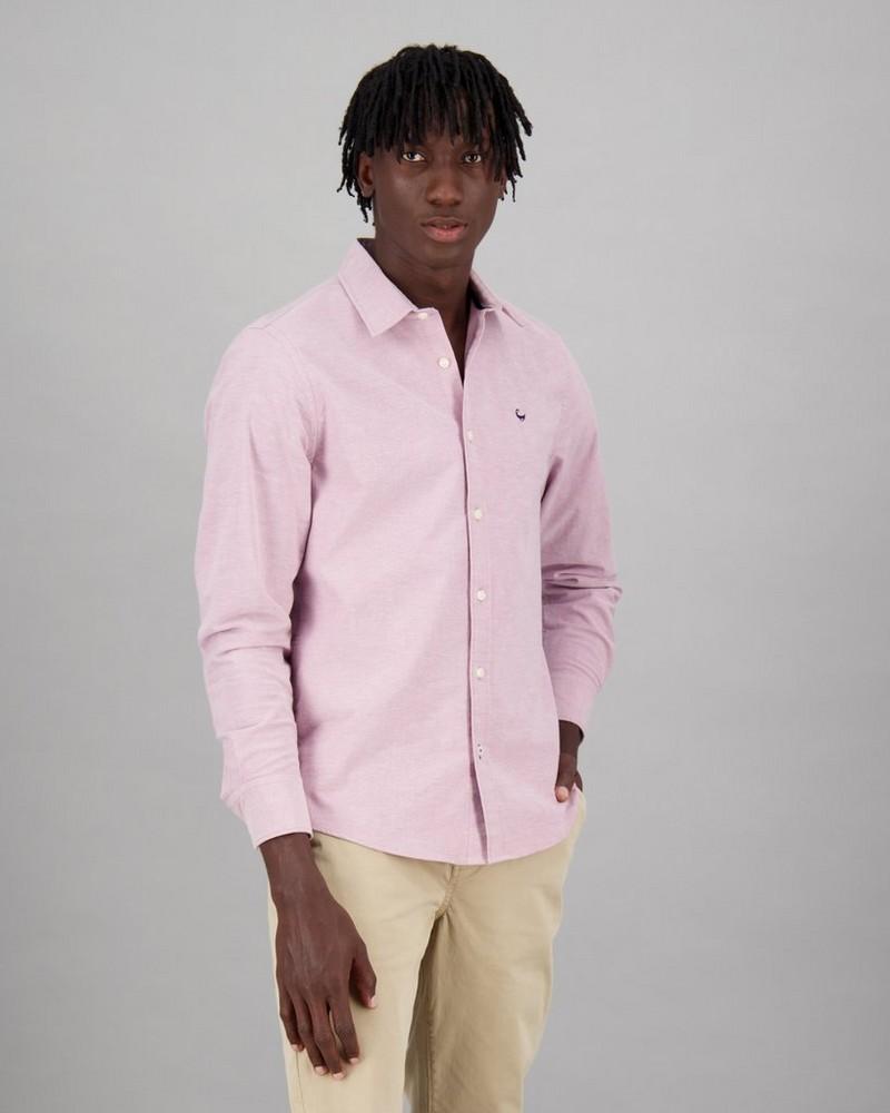 Men's Raul Slim Fit Shirt -  berry