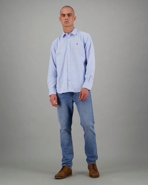 Men's Raul Slim Fit Shirt -  lightblue