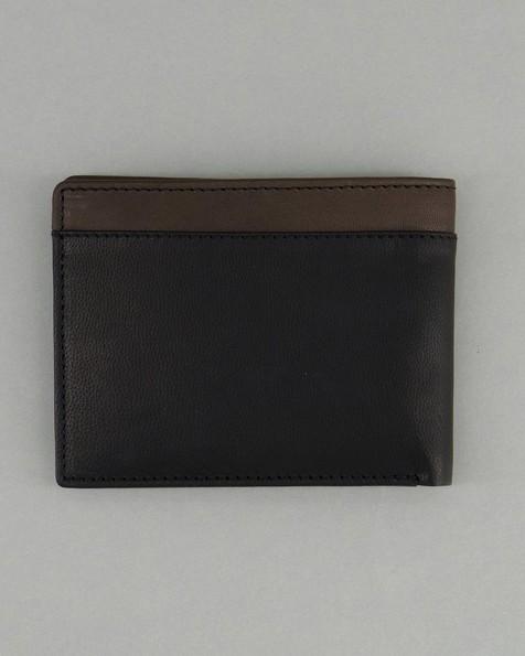 Men's Bobby Two-Toned Wallet -  black