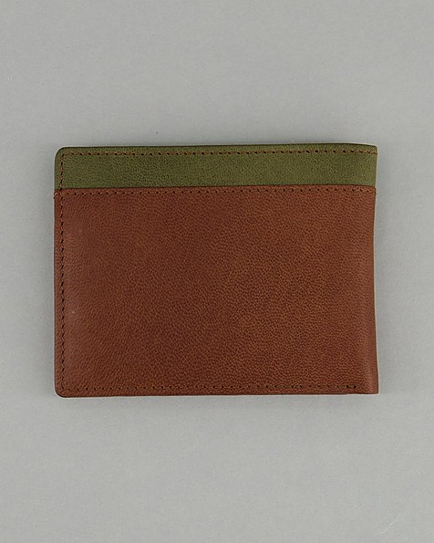 Men's Bobby Two-Toned Wallet -  tan