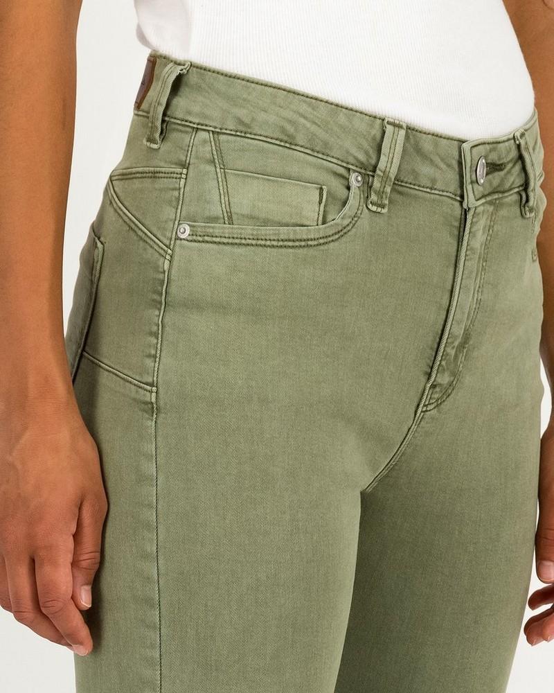 Women's Celeste Skinny Fit Pants -  olive
