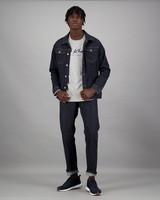 Men's Zane Long Sleeve Standard Fit T-Shirt -  grey