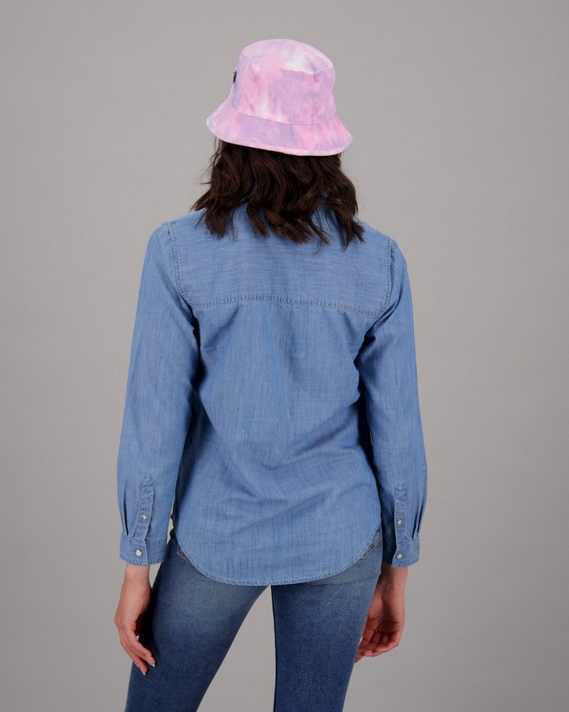 Women's Hayley Denim Shirt -  blue