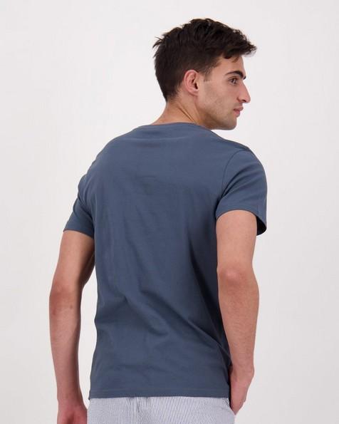 Men's Shane Standard Fit T-Shirt -  blue