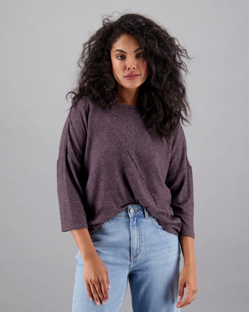 Women's Calypso T-Shirt -  charcoal