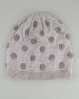 Women's Isla Dotted Beanie -  grey
